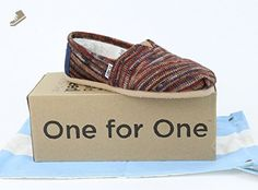 Toms Classic Rust Knit 10000423 Womens 5 - Toms flats for women (*Amazon Partner-Link)