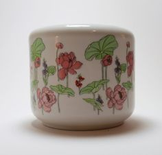 A Japanese Ceramic Painted Planter by Bellaire