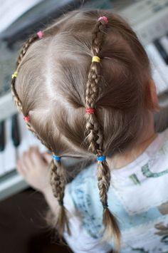 Идеи причесок для девочек