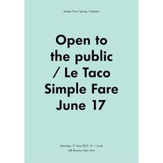 "530 Likes, 17 Comments - Karen Mordechai (@sundaysuppers) on Instagram: ""Have you marked your calendar ? We are throwing a taco bash in soho on June 17- From 1-6pm // all…"""