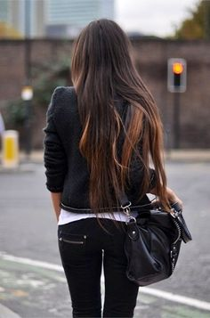 Long hair... Subtle highlights