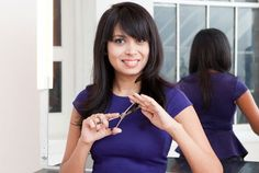 How To Trim Split Ends - Home Haircuts, Tips 2013