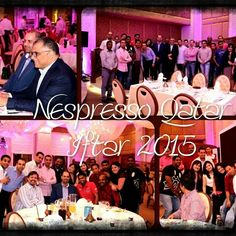A Great Person attracts Great People and knows how to hold them together #NespressoQatar #Abuissarocks #HTI #passion