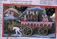 Ingesloten Griffioen trekt zegekar met 3 gratiën, Paulus Lukas