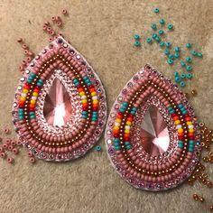 #beaded #earrings