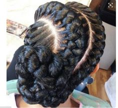 25 Examples Of Goddess Braids You Can Choose From For Your Next Style [Gallery]  Read the article here - http://www.blackhairinformation.com/general-articles/playlists/25-examples-goddess-braids-can-choose-next-style-gallery/