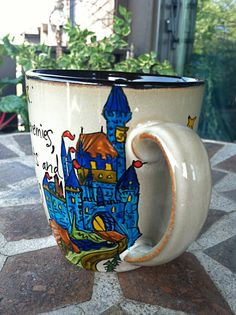 "Mug ""Brave knights and Heroic courage"""