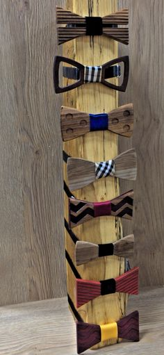#woodenBowTies