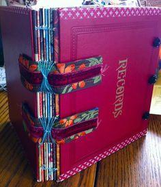 just look at that binding! Beautiful!
