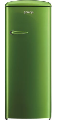 Gorenje Retro Funky lime green freestanding fridge