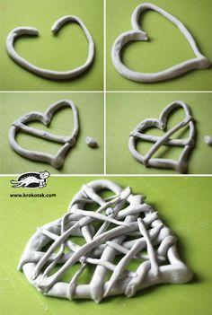 Výsledek obrázku pro ceramic-heart-keychain-clay-heart.htm