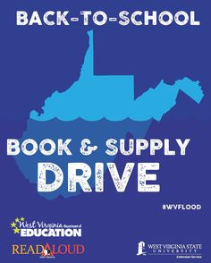 Kanawha County Participates In Back-to-School Supply Drive for Flood Victims