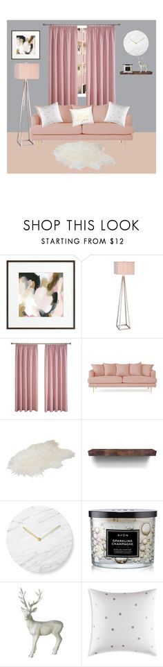 """🌸"" by xonfident ❤ liked on Polyvore featuring interior, interiors, interior design, home, home decor, interior decorating, JAlexander, Joybird, Menu and Avon"