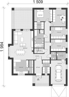 Sims 4 Houses, Small House Design, House Floor Plans, Shelter, Villa, Construction, Flooring, How To Plan, Log Projects