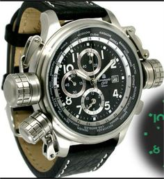 Aeromatic Worldtime Watch - The Coolest Watches from Watchismo.com