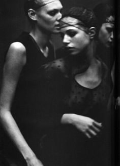 """Enchanting Mood"" by Peter Lindbergh for Vogue Italia 1997… No.8"