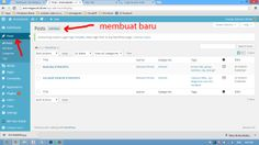 membuat post, daftar post