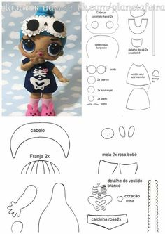 Cutest Felt Toys you will simply adore Fabric Dolls, Paper Dolls, Lol Doll Cake, Cheer Captain, Felt Crafts Patterns, Free To Use Images, Doll Tutorial, Lol Dolls, Felt Toys