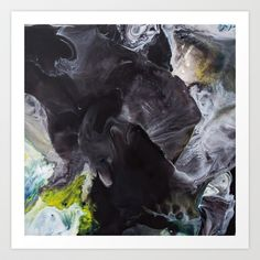 """Color Commentary #6: """"Not Quite (Black & White)"""" [Doug Brewer] Art Print by Abigail Markov - $14.99"""