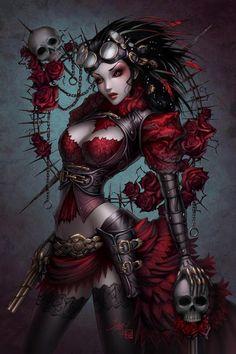 #Steampunk Tendencies   Lady Mechanica - Sabine Rich Art