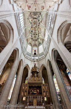 Delight: Vaults of St Barbara Church, Kutna Hora, Czech Republic © Quintin Lake