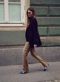 Leopard styling.