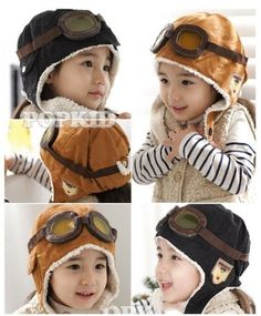 Super Cute Wool Baby Toddler Pilot Style Cap Only $4 (Reg. $20)! - http://couponingforfreebies.com/super-cute-wool-baby-toddler-pilot-style-cap-4-reg-20/