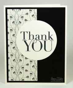 Timeless Elegance Thank You Card