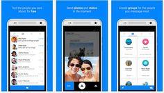 Facebook Messenger ha lanzado su herramienta de mensajería en la tienda de Google Play Store para ser instalada en cualquier modelo de dispositivos móviles.