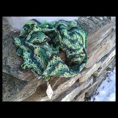 Shawl in norwegian style and design. norwegian wool and hand made. Different colors, nice and warm. Size: 150 cm x 30 cm Size: in x in Ready for shipping from Norway by norwegian post. Norwegian Style, Green Colors, Different Colors, Shawl, The 100, Wool, Knitting, Handmade, Gifts