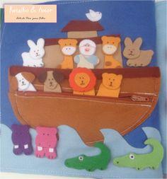 A arca de Noé com zíper Curta nossa página no facebook: www.facebook.com/RetalhoeAmor Entre em contato através do e-mail: retalhoamor@yahoo.com.br
