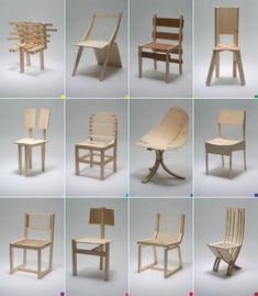For one class of architecture students at the RDAFA, It's one chair a week