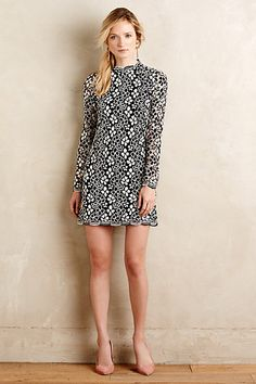 Trilling Daisies Lace Shift #anthropologie