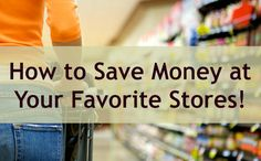 See how you can take advantage of savings offers available at your favorite stores like Target, CVS, Kroger and MORE.