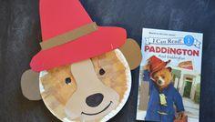 Paper Plate Paddington {Kid Craft}