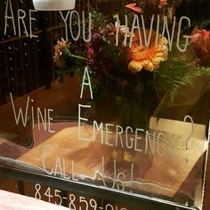#Wineemergency #FlowercupWine #WineShop #Hudsonvalleyfoodandwine #82MainSt #ColdSpringNY 10516 https://flowercupwine.com/