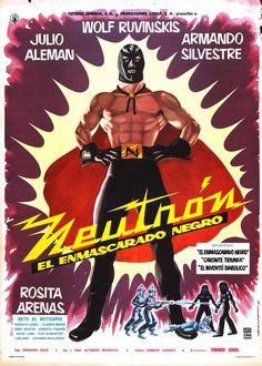 Neutrón El Enmascarado Negro movie poster (1962)