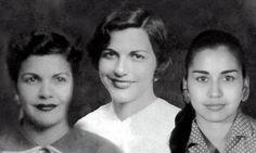 Minerva, Patria y María Teresa, el 25 de noviembre fue declarado Día Internacional de la Eliminación de la Violencia contra la Mujer.Hermanas Mirabal heroinas de la revolucion Dominicana.