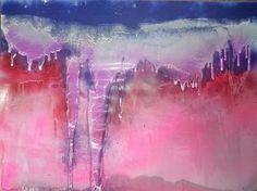 """Saatchi Art Artist Ulrich de Balbian; Painting, """"ag203"""" #art"""