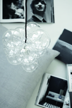 House Doctor DIY lampa glas