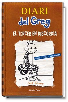 """Diari del Greg: el tercer en discòrdia"" de Jeff Kinney"