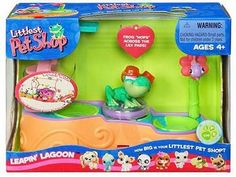 Amazon.com: Hasbro Littlest Pet Shop Leapin' Lagoon: Toys & Games