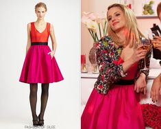 Kate Spade Normandy Silk Dress - $498.00  Worn with: Alice + Olivia jacket,JCPenney clutch