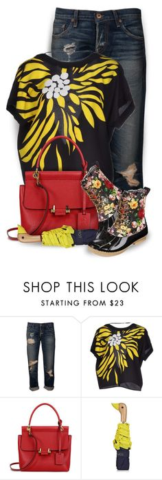 """""""April Showers"""" by kearalachelle ❤ liked on Polyvore featuring NSF, Etro, Lanvin, Topshop and Henry Ferrera"""