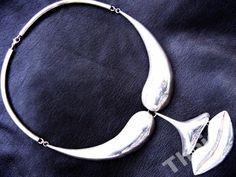 DALI STARY UNIKATOWY NASZYJNIK WISIOR OKAZ OLBRZYM Dali, Bracelets, Silver, Vintage, Jewelry, Jewlery, Jewerly, Schmuck, Jewels