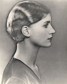 Solarised portrait of Lee Miller . All through the 20s and 30s Man Ray combined commercial success, working for Vogue, VU, Vanity Fair and Harper's Bazaar, with artistic experimentation. Sometimes these two spheres of his work went hand in glove as in a French Vogue feature about his rayographs, images produced by placing objects on photosensitized paper that was then exposed to light.
