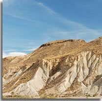Choose Almeria for adventure... Tabernas desert - a landscape of badlands and a backdrop for many famous movies such as the Clint Eastwood spaghetti westerns...