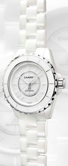 Rosamaria G Frangini | AllThings White | Chanel  White* Ceramic Watch*
