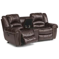 Crosstown 3 Pc Power Reclining Sectional Sofa By Flexsteel