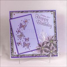 Dies by Chloe - Butterfly Arch Die - - Dies by Chloe - Chloes Creative Cards Butterfly Birthday Cards, Butterfly Cards, Card Crafts, Paper Crafts, Chloes Creative Cards, Stamps By Chloe, Crafters Companion Cards, Lace Wedding Invitations, Die Cut Cards